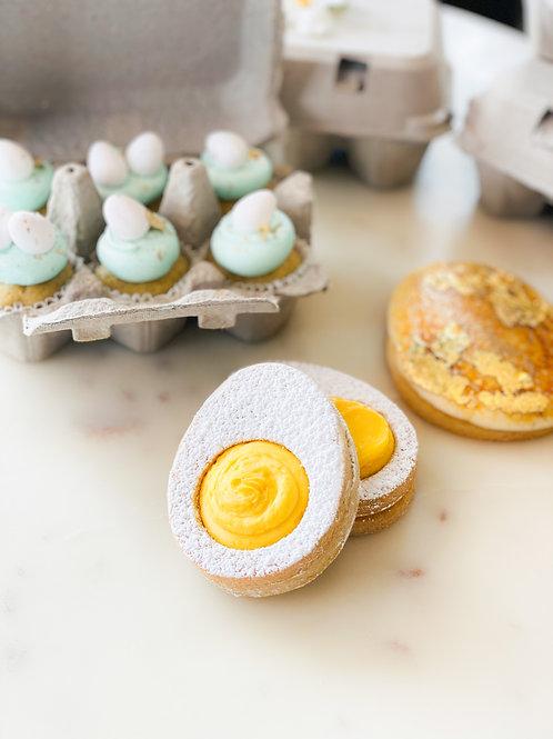 Egg Yolk Cookie Set