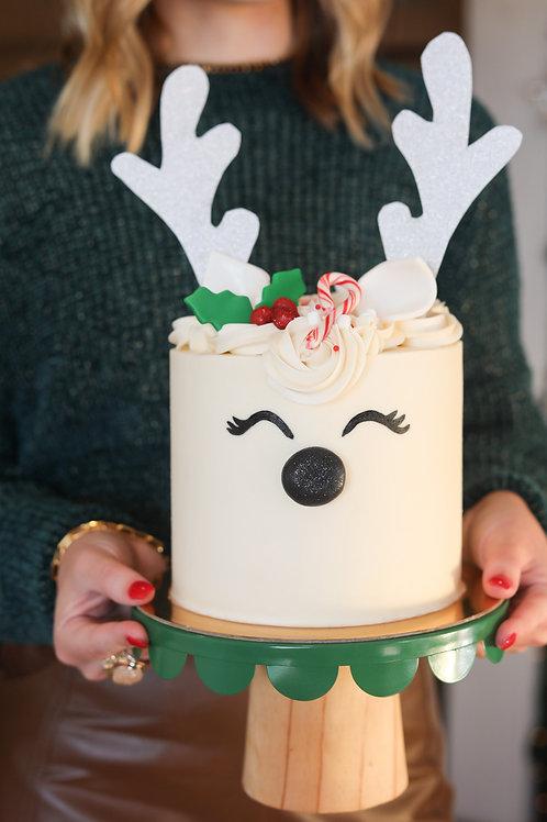 Ruby the Reindeer Cake