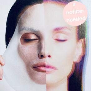 Wirkstoffmaske statt Selfie-Filter