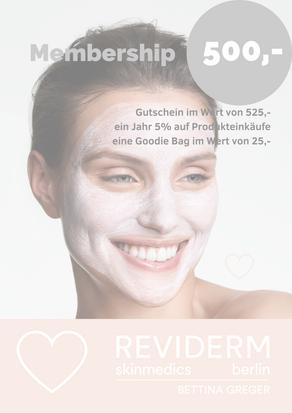 REVIDERM skinmedics berlin - Membership