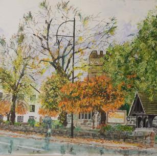 Cheadle, Autumn Rain