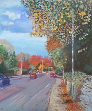 Wilmslow Rd autumn