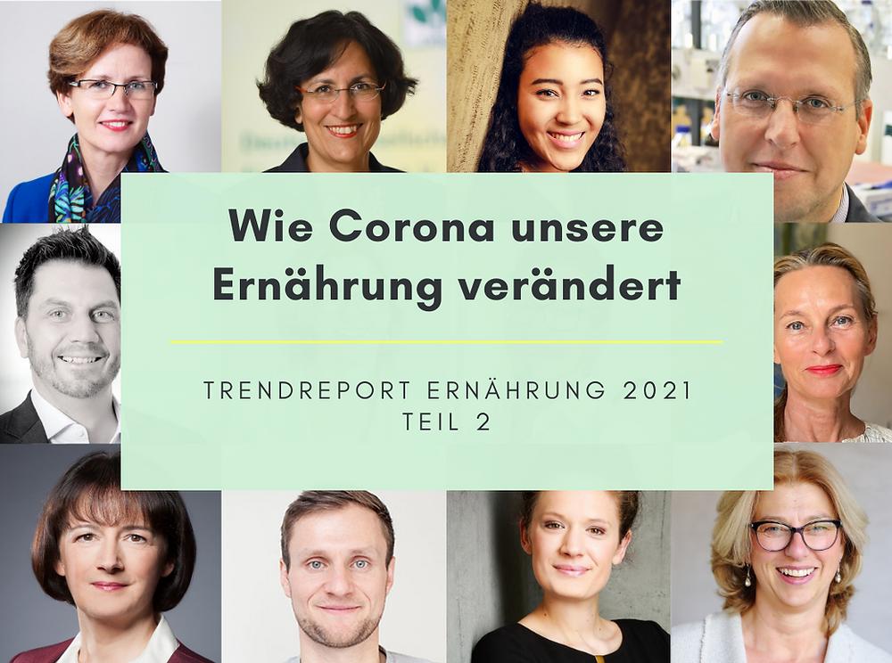 Wie Corona unser Ernährung verändert - Der Trendreport von Nutrition Hub 2021