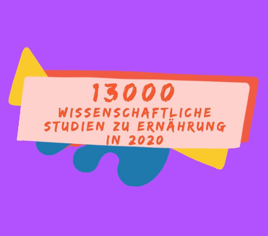 Nutrition Hub_13000 wissenschaftliche Studien zu Ernährung in 2020