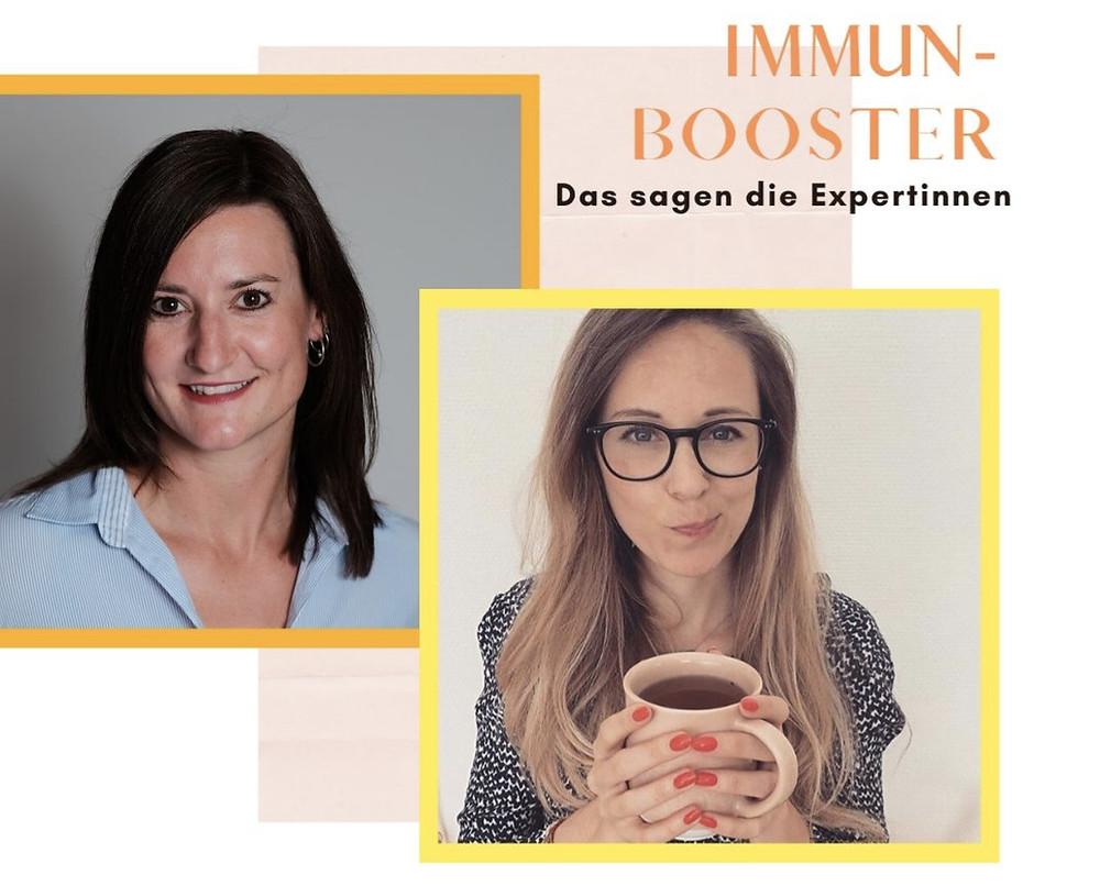 Dr. Tanja Werner und Marie Ahluwalia