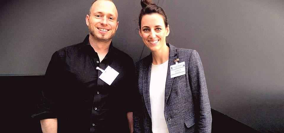Nico Petry und Simone Frey