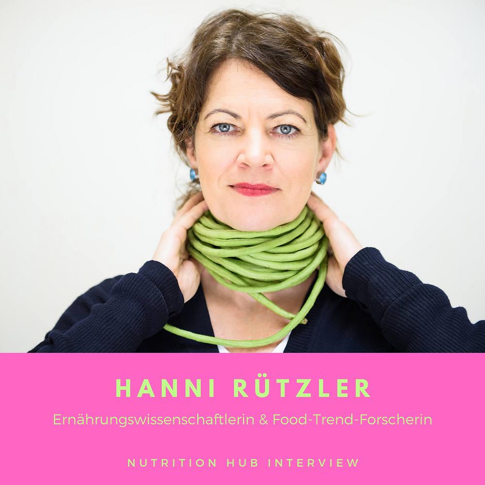 Foodtrend-Forscherin Hanni Rützler