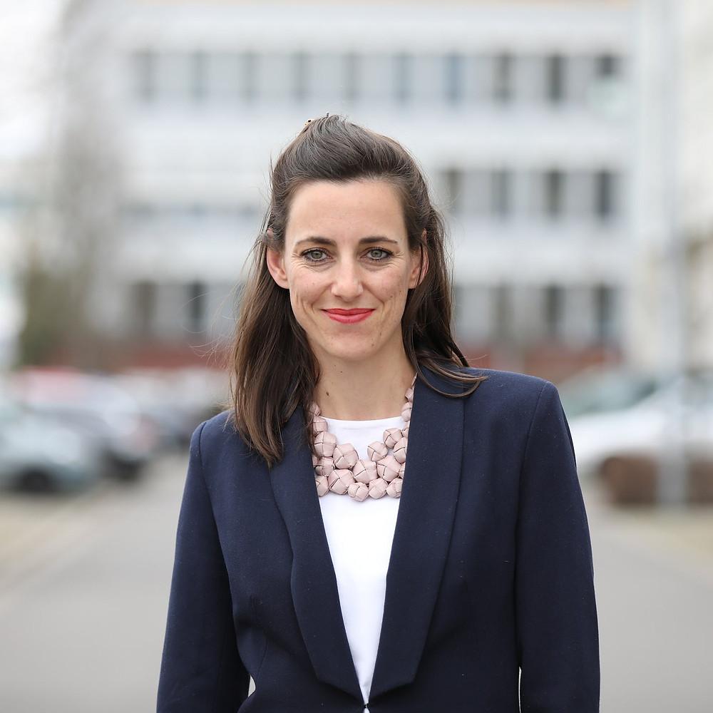 Simone Frey, Gründerin und Geschäftsführerin con Nutrition Hub