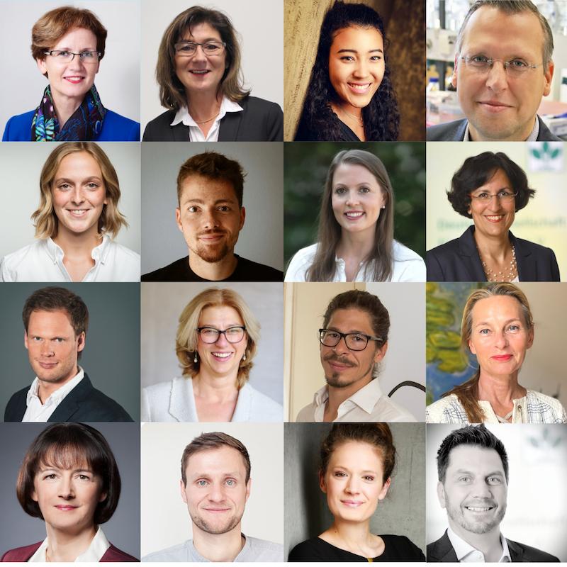 16 der 75 befragten Ernährungsexpertinnen zum Thema Ernährungstrends 2021