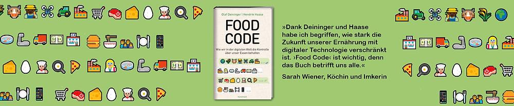 Das Buch: Food Code von Hendrik Haase und Wirtschaftsjournalist Olaf Deininger