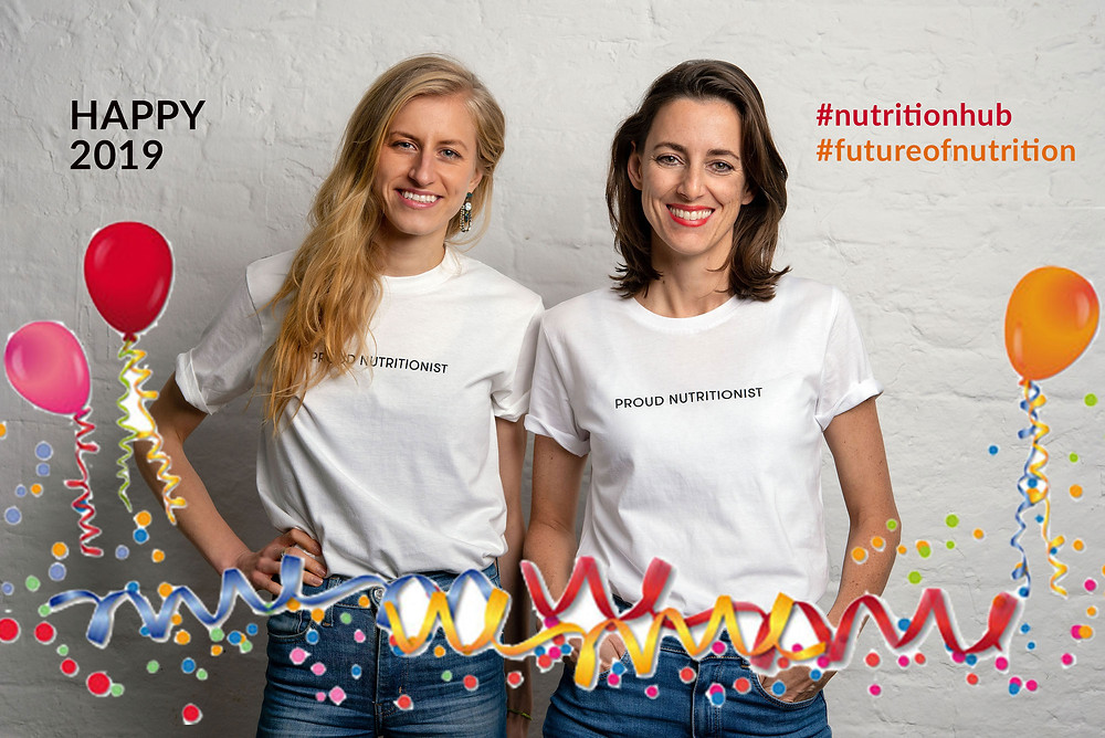 Lia Marlen Schmökel und Simone Frey, Gründerinnen von Nutrition Hub