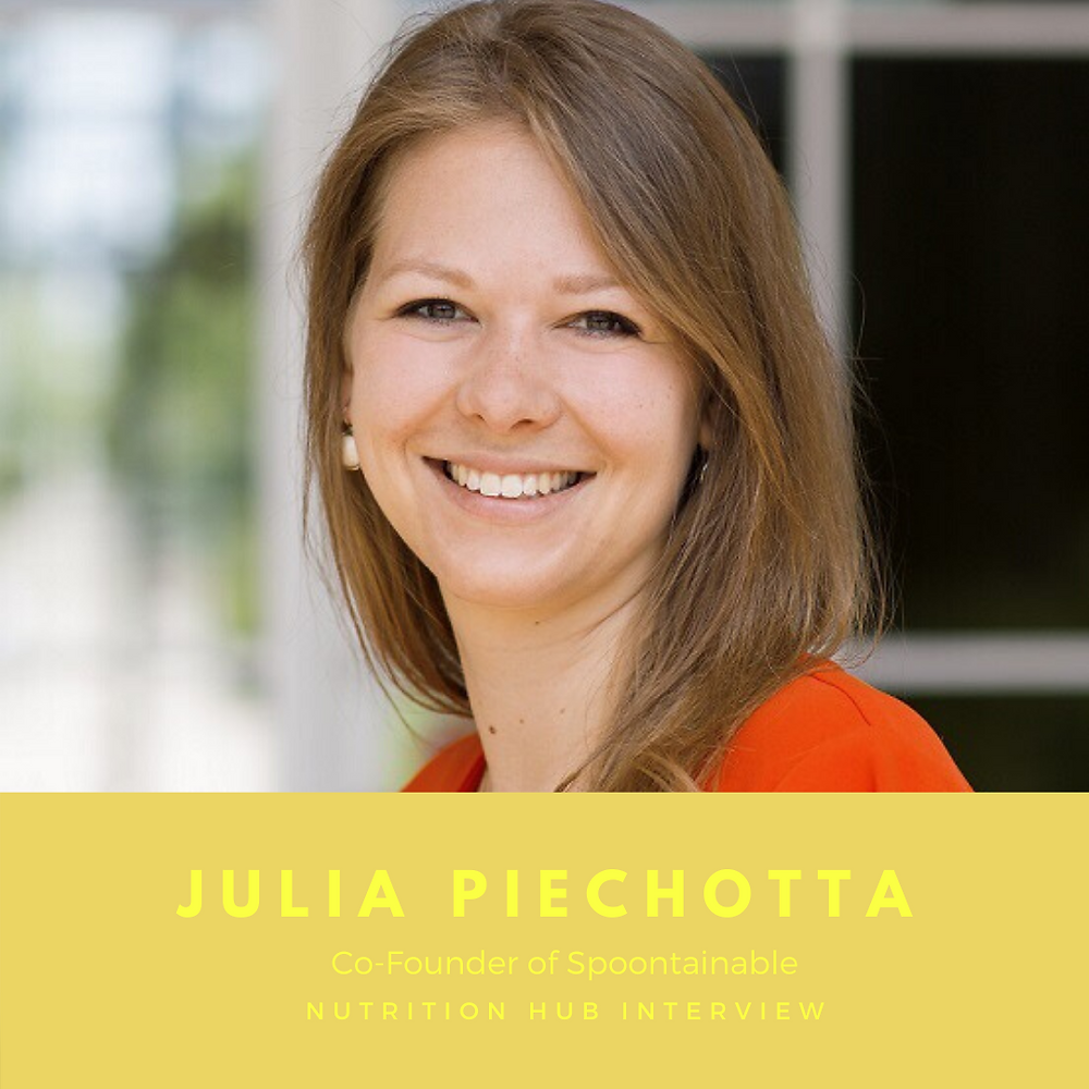 Julia Piechotta – Mitgründerin von Spoontainable, Deutschlands nachhaltigstes Start-Up