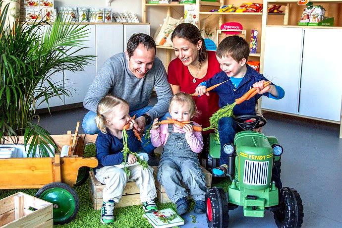 Natacha Neumann mit ihrer Familie