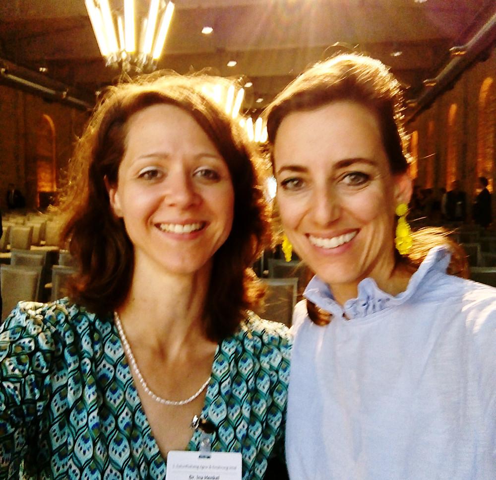 2 braunhaarige Frauen, Dr. Ina Henkel und Simone Frey