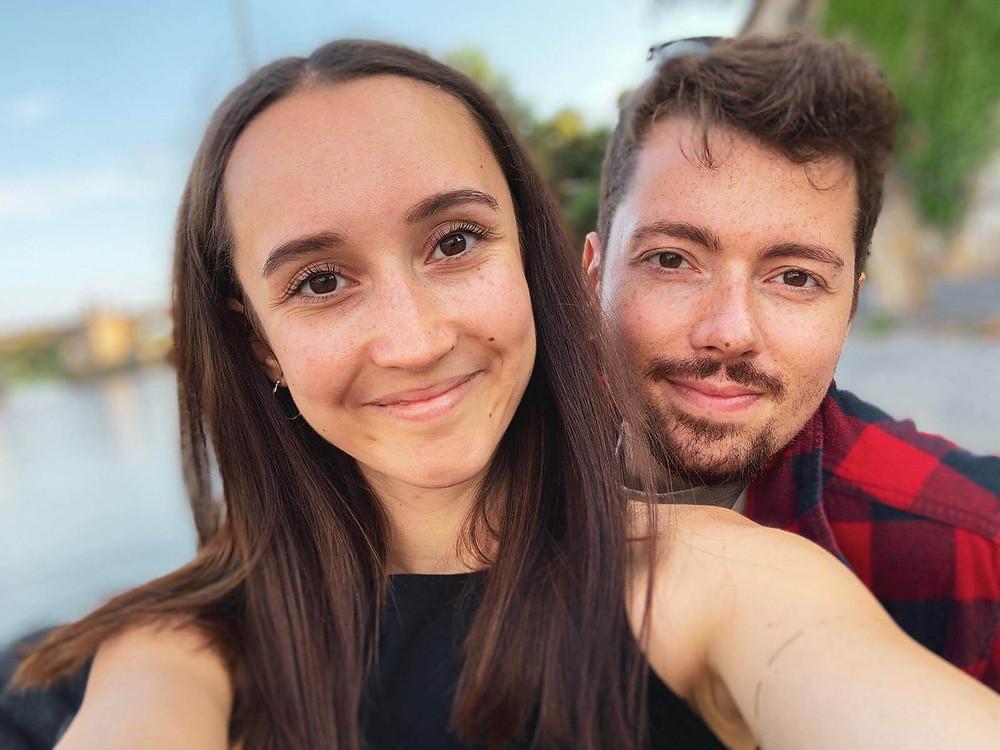 Selfie von Laura Merten und Jan Rein