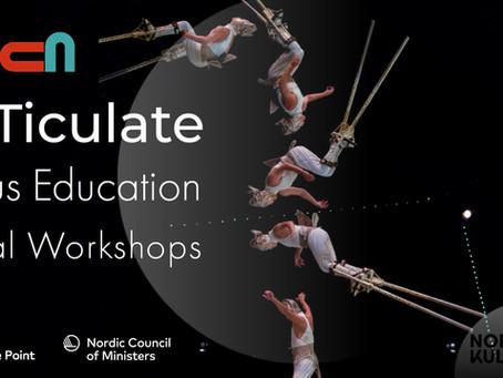 Registration open: ARTiculate 1.0 digital workshops