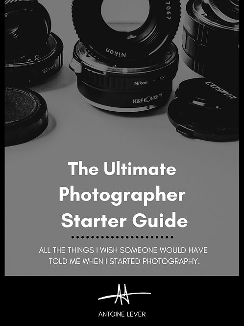 The Ultimate Photographer Starter Guide (Digital)
