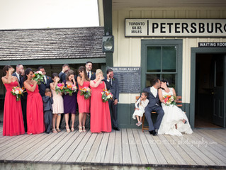 Nicole and Eric tie the knot | Julie Larochelle Photography | Kitchener Wedding Photographer