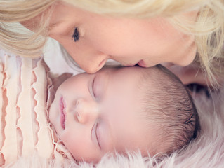 It's a girl! | Julie Larochelle Photography | Burlington Newborn Photographer