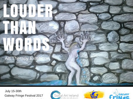 """""""Louder than Words"""" Art Therapy Exhibition"""