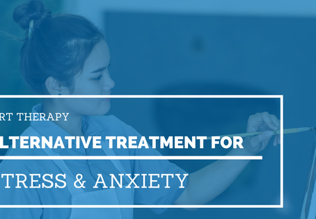 Art Therapy: Alternative Treatment for Stress & Anxiety