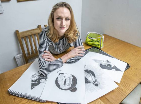 Drawing strength: How art helped me beat depression