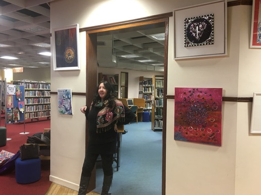 Art Therapy Exhibition at Galway Public Library