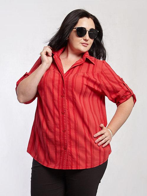 Рубашка 219-397 красный