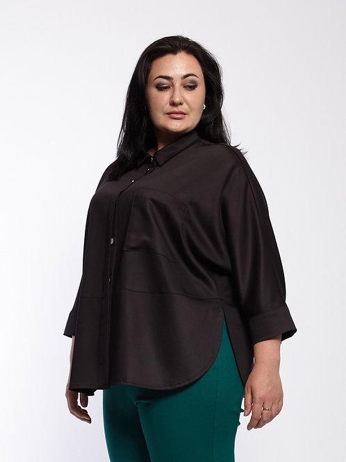 Блузка 220-435 черный
