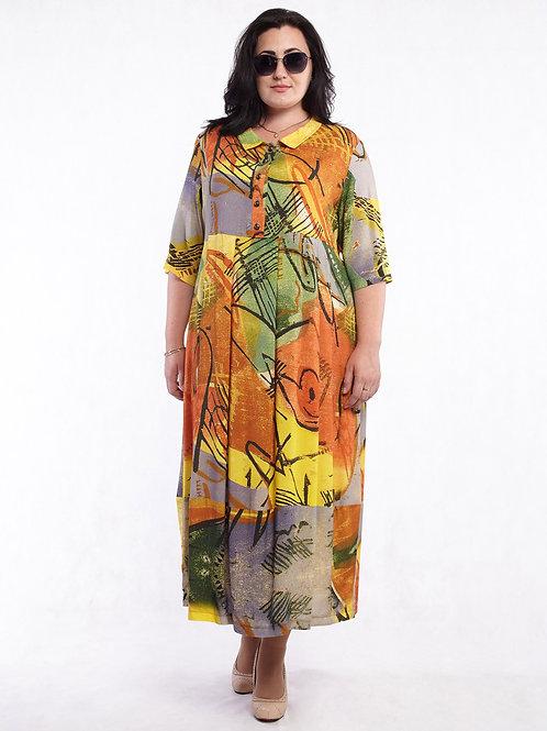 Платье 219-334 африка