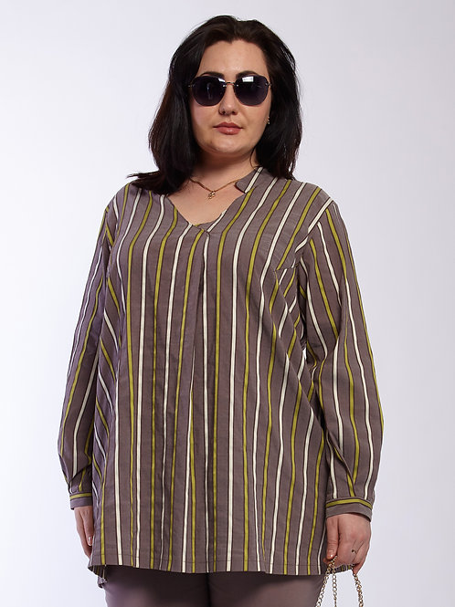 Блузка 220-427 олива