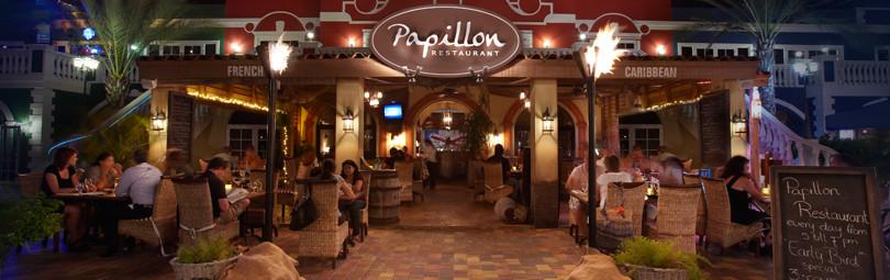 Papillon restaurant Aruba