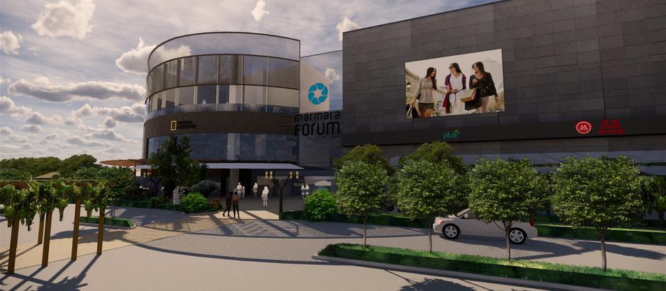 Foodcourt Marmara Forum Istanbul