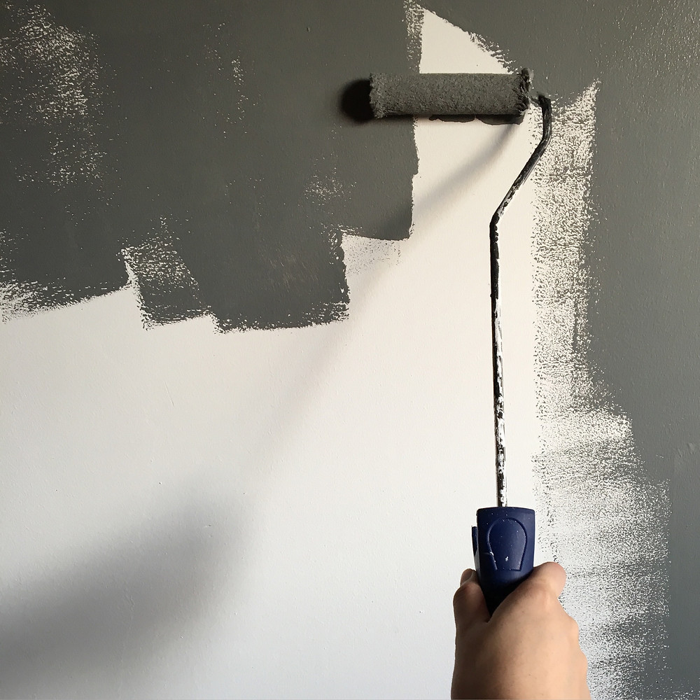 Even simple tasks like painting can make your rental property look brand new.