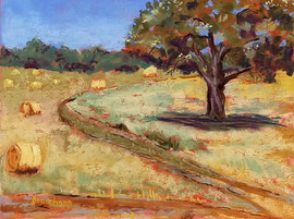 Around the Bend plein air