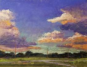 Summer Evening Clouds