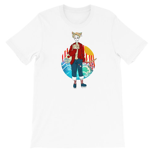 Linhao's French Cat Boy Shirt