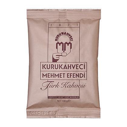 Kurukahveci Mehmet Efendi Türk Kahvesi Poşet 100gr 25'li Koli