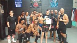 Cori's Muay Thai Fitness Certificate