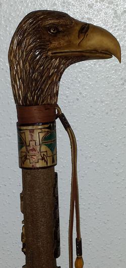 Amer. Indian symbols & Eagle Head