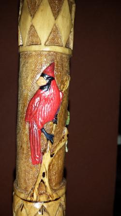 Custom Birds Cane