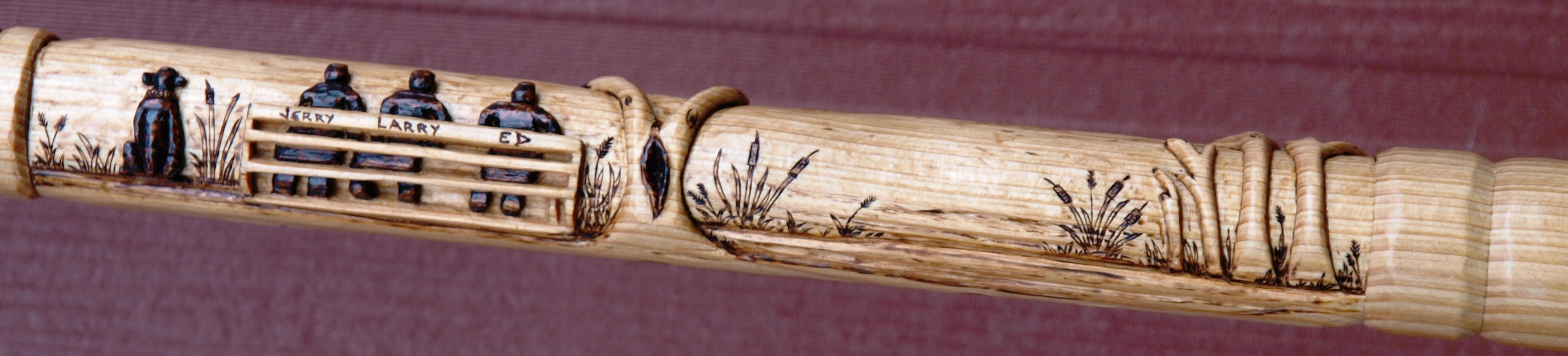 "Chinese Tallow ""Friendships"" Cane"