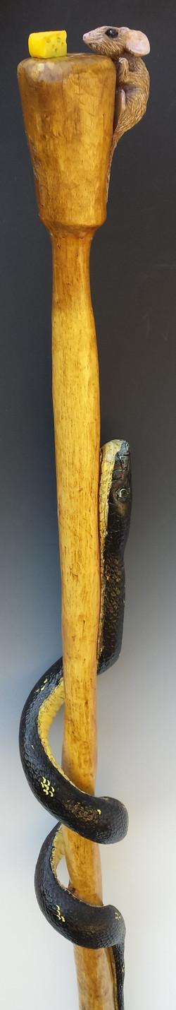 Texas Rat Snake/Mouse Walking Stick