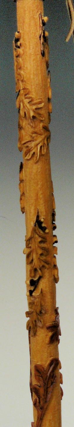 Basswood Walking Stick