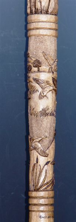 Custom Pump Jack & Duck Hunting Cane