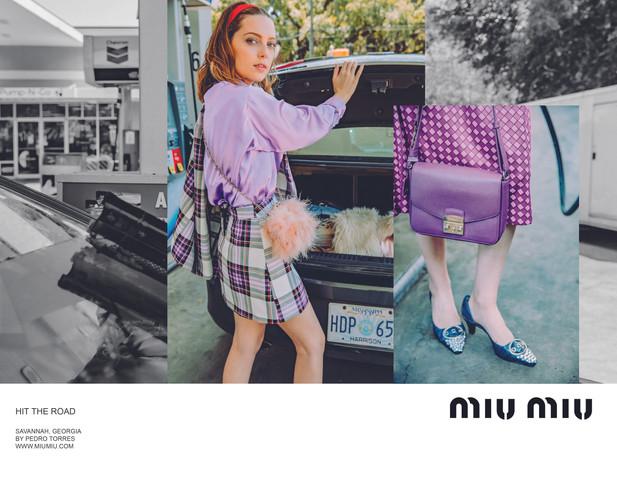 Mock Miu Miu Ad Campaign