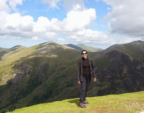 Kuljit.K.Sehmi on Mount Snowdon