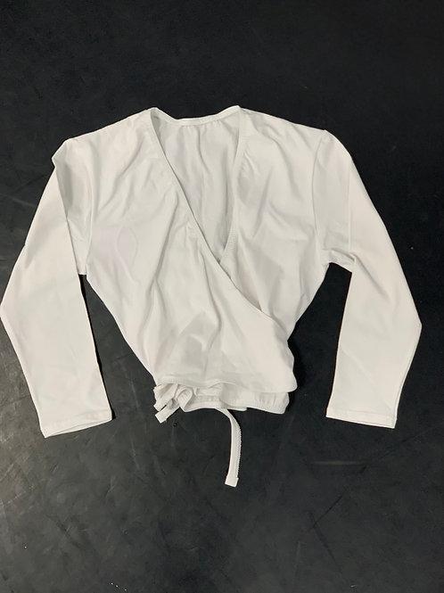 Ballet Wrap Cotton Cardigan