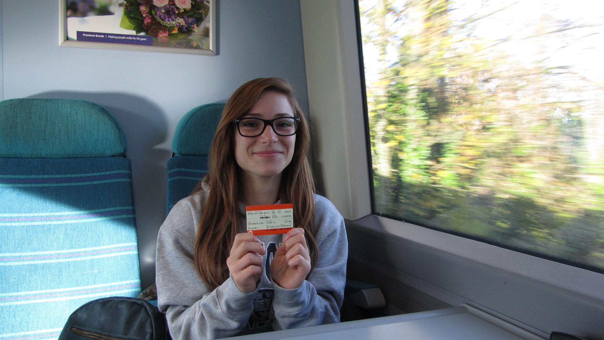 Mrika na vlaku