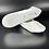 Thumbnail: White Leather Ballet Shoe